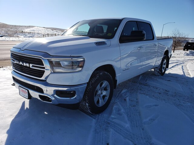 New 2019 Ram All New 1500 Big Horn Lone Star Crew Cab In Gillette