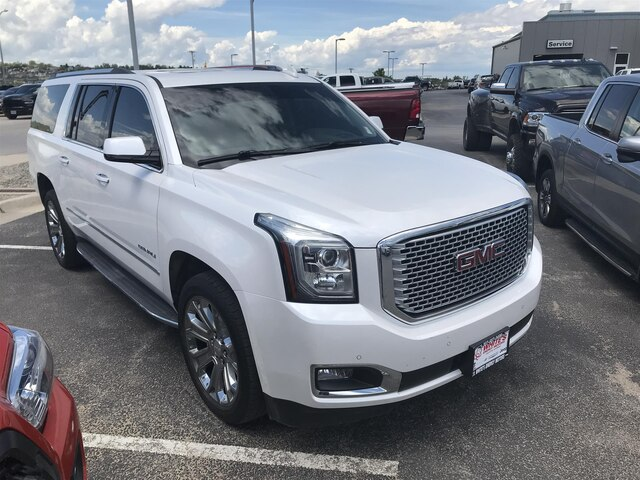 Gmc Yukon Xl Denali >> Pre Owned 2016 Gmc Yukon Xl Denali Suv In Gillette R19227a