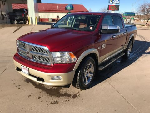 PRE-OWNED 2012 RAM 1500 LARAMIE LONGHORN/LIMITED EDITION 4WD