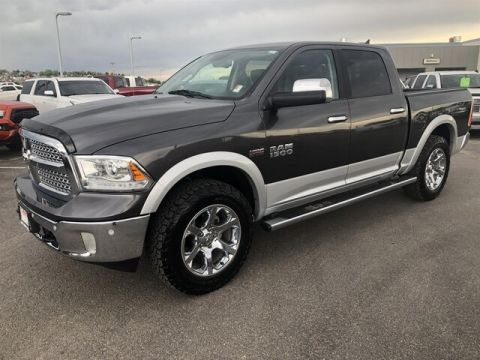 Certified Pre-Owned 2017 RAM 1500 Laramie (4x4 Crew Cab 140 in. WB)