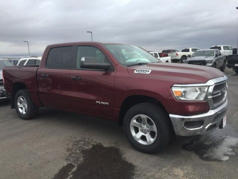 "NEW 2019 RAM 1500 TRADESMAN CREW CAB 4X4 5'7"" BOX"