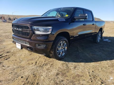 "NEW 2019 RAM 1500 BIG HORN / LONE STAR CREW CAB 4X4 6'4"" BOX"