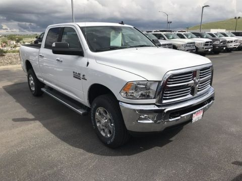 "NEW 2018 RAM 2500 BIG HORN CREW CAB 4X4 6'4"" BOX"